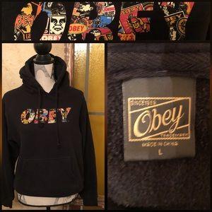 Like New Lg. Obey Sweatshirt
